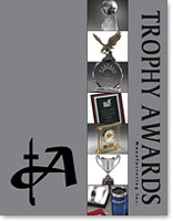 Trophy Awards catalog cover
